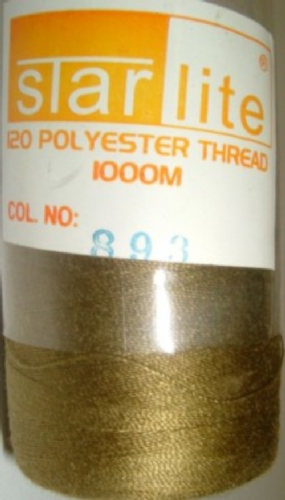 Polyester Sewing Machine Thread 1000 Metres Spools 893